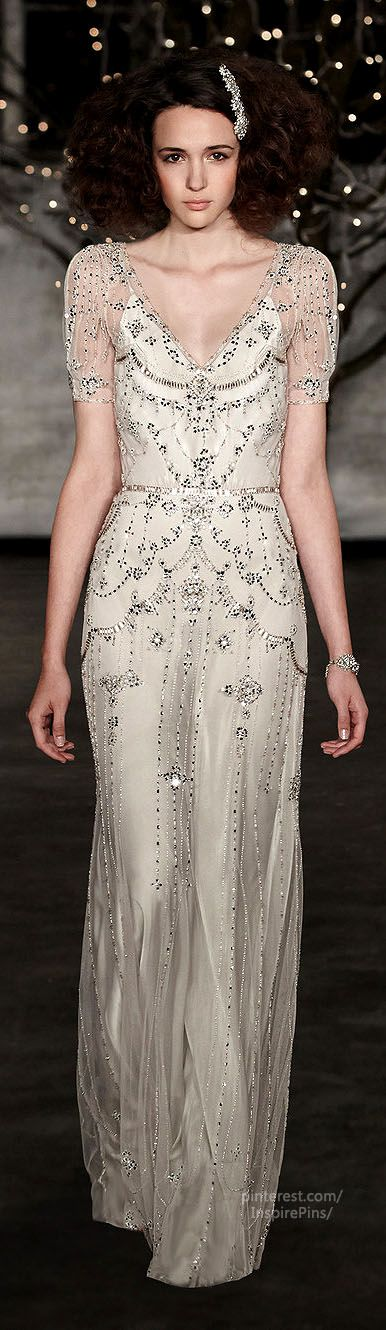 Fall 2014 Bridal Jenny Packham Collection #PurelyInspiration