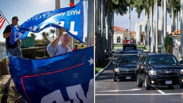 Trump Sees Fans Cheering in Palm Beach, What Happens Next STUNS the WORLD - Best Conservative News