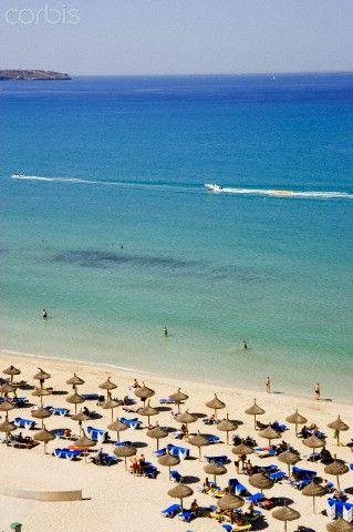 Spain, Balearic Islands, Majorca, Palma Beach, Can Pastilla Beach