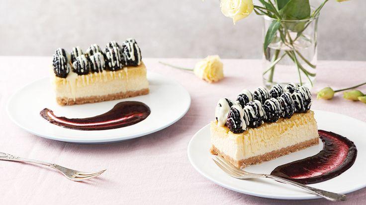 Cheesecake s tvarohom a ovocím