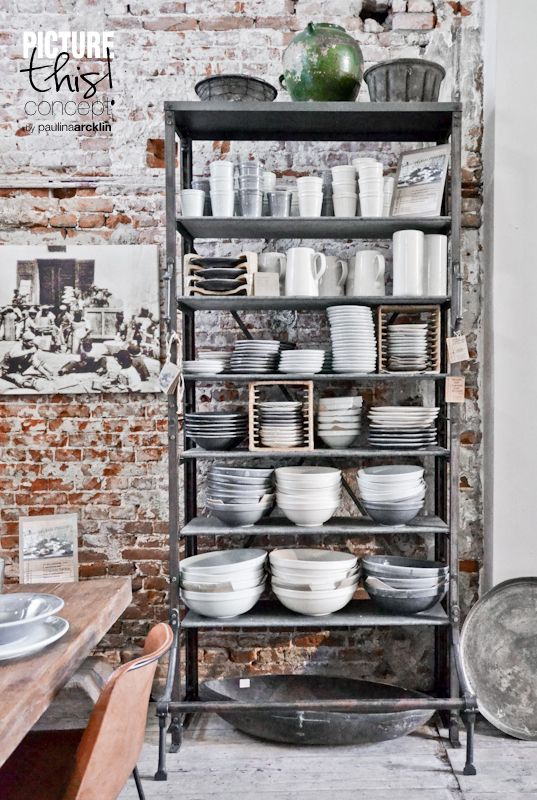 25 Modern Shelving Systems Bringing Industrial Vibe into Interior Design                                                                                                                                                                                 More
