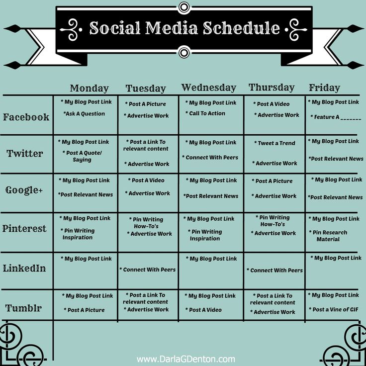 Best 25+ Social Media Calendar Template Ideas Only On Pinterest