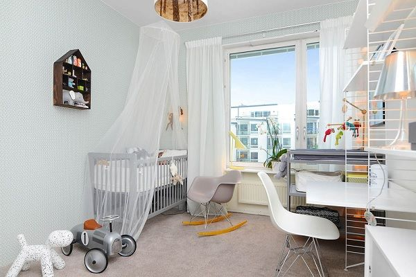 Stockholm apartament - children's room