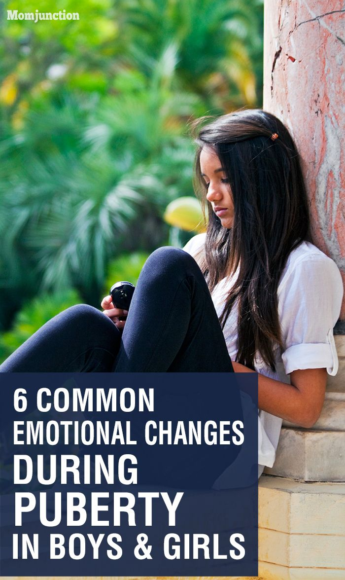 6 Common Emotional Changes During Puberty In Boys And Girls:  learn more about emotional changes during puberty and how they affect your son or daughter.