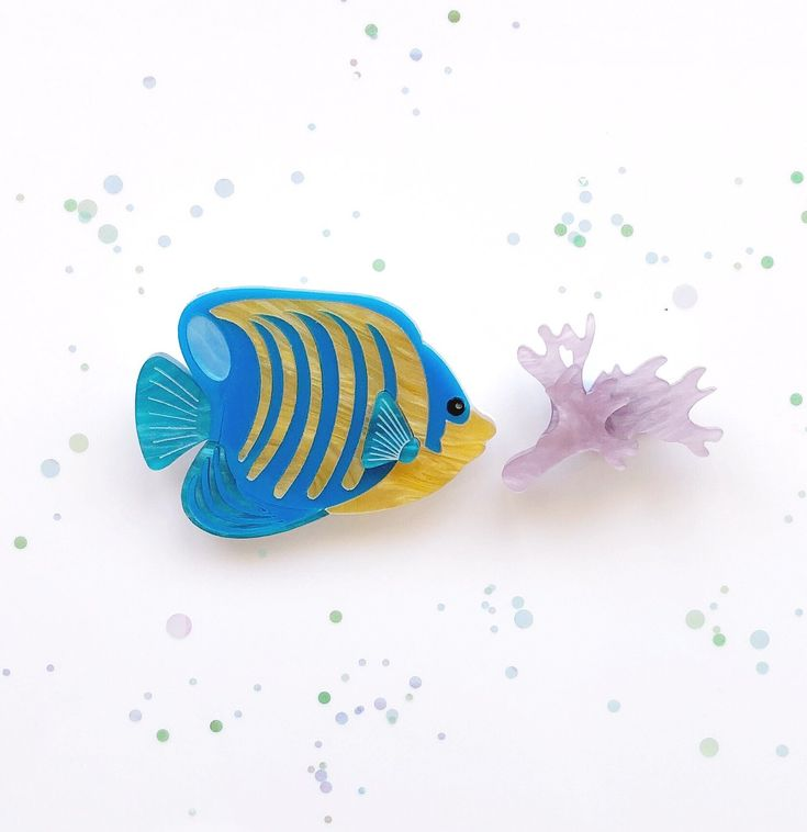 Felix the Fish Brooch Set - Limited