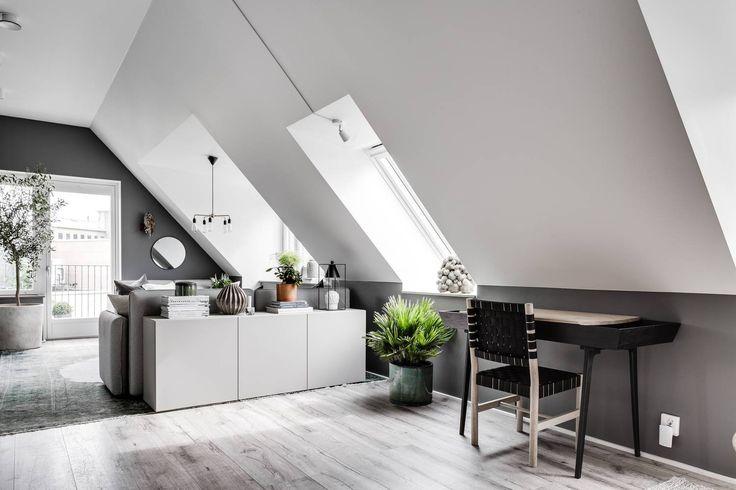 Attic living area - via Coco Lapine Design blog
