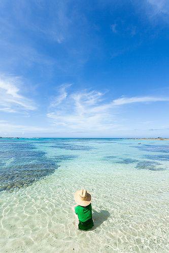 Tomori Beach, Amami Oshima Island, Japan ~ subtropical island 300 kms south of Okinawa