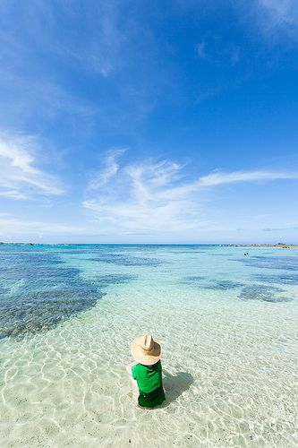Tomori Beach, Amami Oshima Island, Japan ~ subtropical island 300 kms south of Okinawa