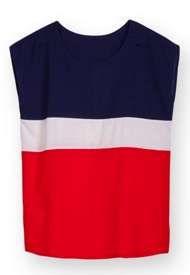 Loose Chiffon T-Shirt