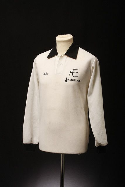 Fulham FA Cup Final Football Shirt 1975