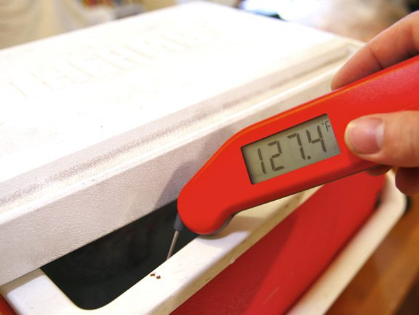Cook Your Meat in a Beer Cooler: The World's Best (and Cheapest) Sous-Vide Hack