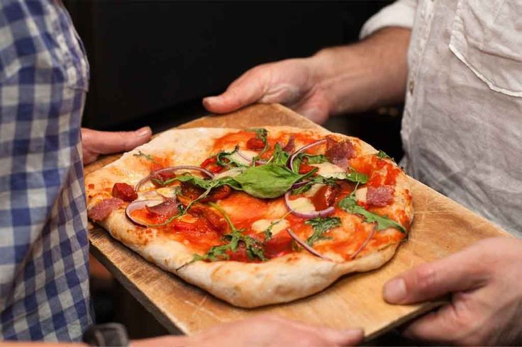 This is the sourdough pizza recipe I use for a brilliant quick sourdough pizza with all the flavour and none of the wait, because what do we want? PIZZA! And wh