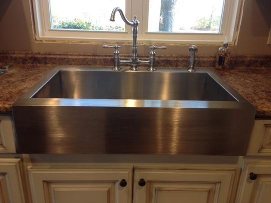 best 25 drop in farmhouse sink ideas on pinterest drop in kitchen sink vintage farmhouse. Black Bedroom Furniture Sets. Home Design Ideas