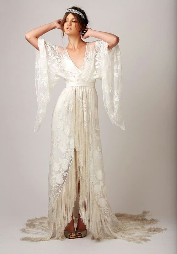 antique lace kimono (this one is a fantasy thing, not real) for a wedding outfit in 2017 Summer/if we do it then?