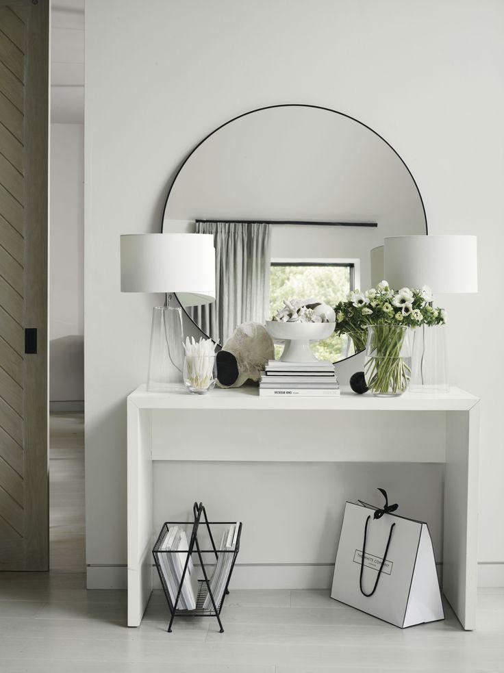 Chiltern Thin Metal Round Mirror – #Chilters # home & kitchen technology # home & kitchen technology chipper berlin # haus & küchentechnikschroeder