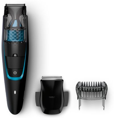 Philips beard trimmer 7000. Less mess vacuum trimmer | Philips