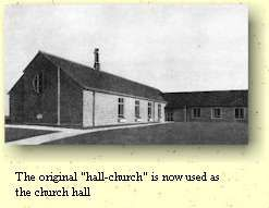 "The original ""hall-church"" is now used as the church hall - Barnabas Builders ""The God of heaven, he will prosper us, therefore we his servants will arise and build."" Nehemiah 2:20"