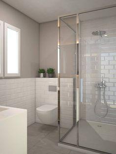 alicatar baño a media altura