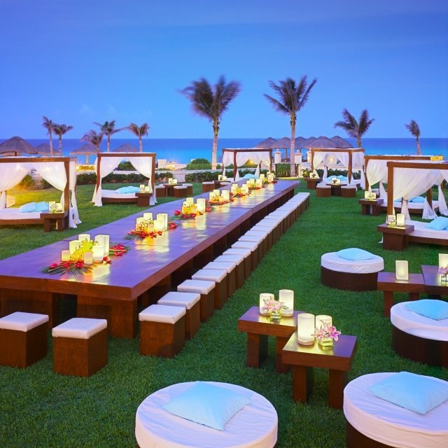 Night Time Event Setup At The Jw Marriott Cancun Resort Spa Pinterest And