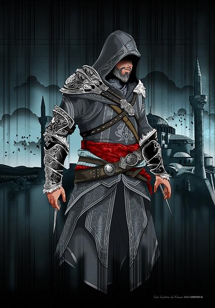 """Ezio Auditore Da Firenze (Kostantiniyye 1511)"" Assassin's Creed © Ubisoft"