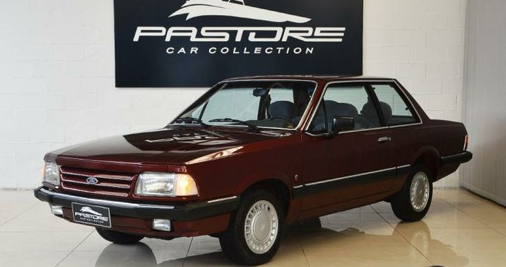 Ford Del Rey Ghia 1991 Bordô - Pastore Car Collection