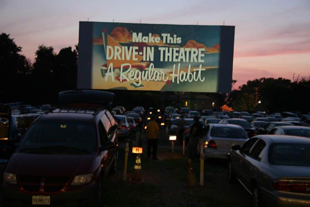 Drive In Theaters....we used to take our baths and get in our PJ's...make some popcorn and go to the drive-in