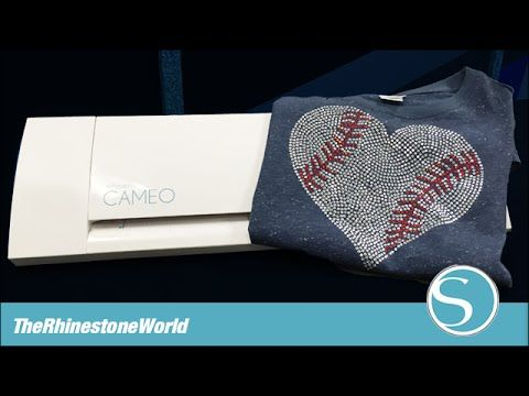 How to Cut a Two Color Rhinestone Template with the Silhouette Cameo