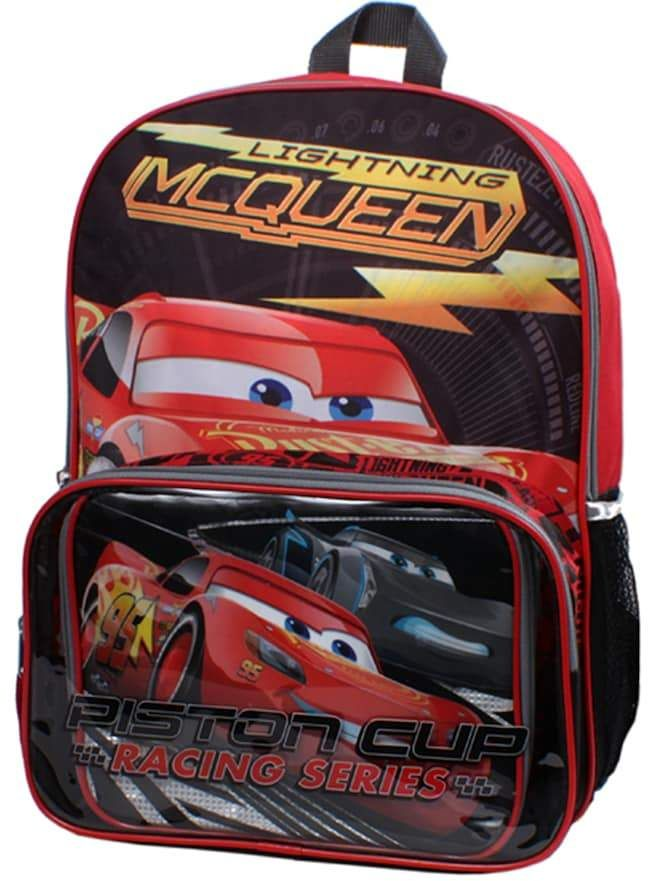 17009e1101 Cars Lightning McQueen Backpack   Lunch Bag Set  affiliate ...