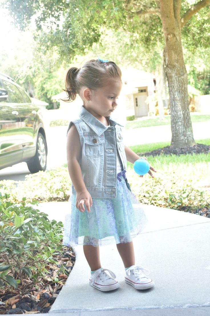Toddler Fashion 2 Year Old Outfit Girl Outfit Denim