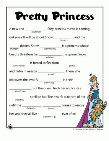 Free printable funny summer mad libs, great for kids car activities or for summer party games.