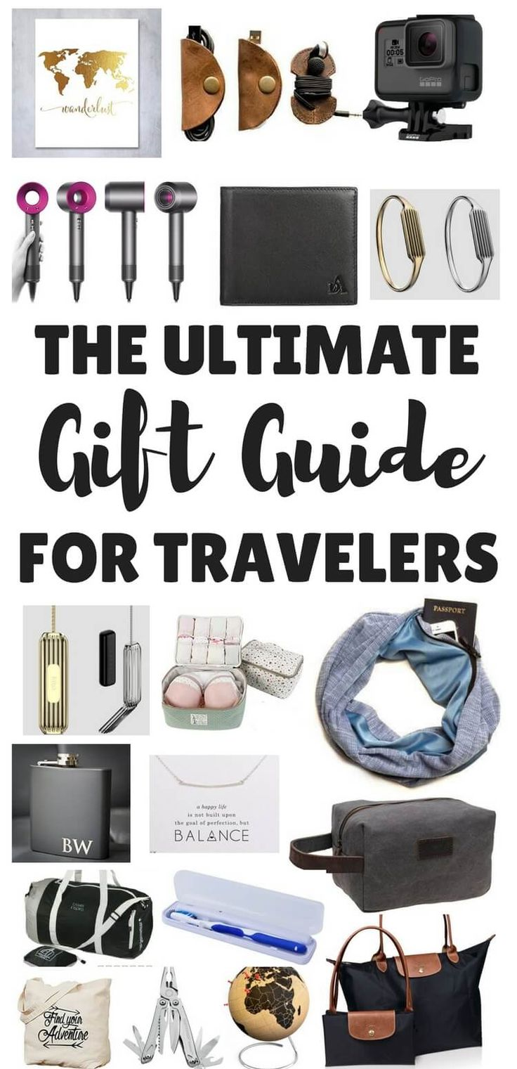 25 best ideas about travel gifts on pinterest gifts for for Good gifts for a traveler