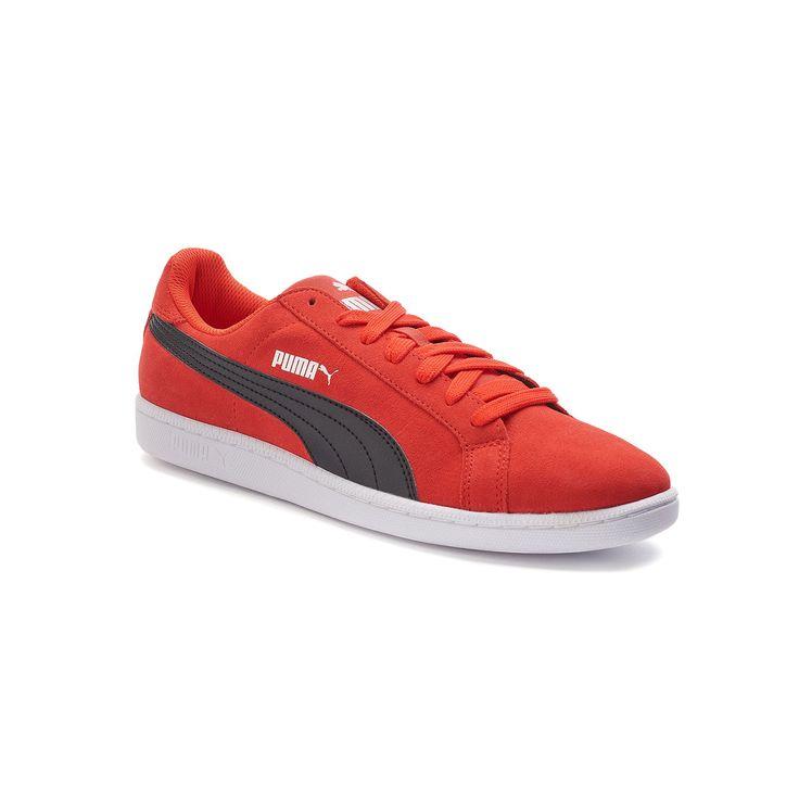 PUMA Smash Men's Suede Shoes, Size: 11.5, Red