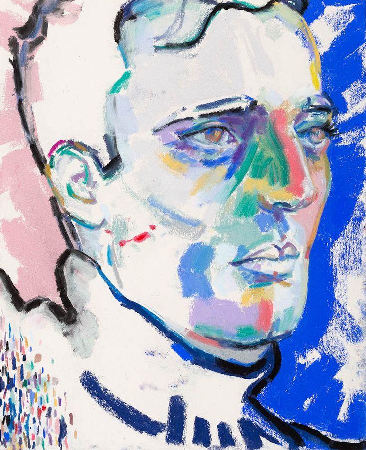 Elizabeth Peyton, Andro , 2013,    Pastel on paper, (33 x 29.2cm) /  Gladstone Gallery
