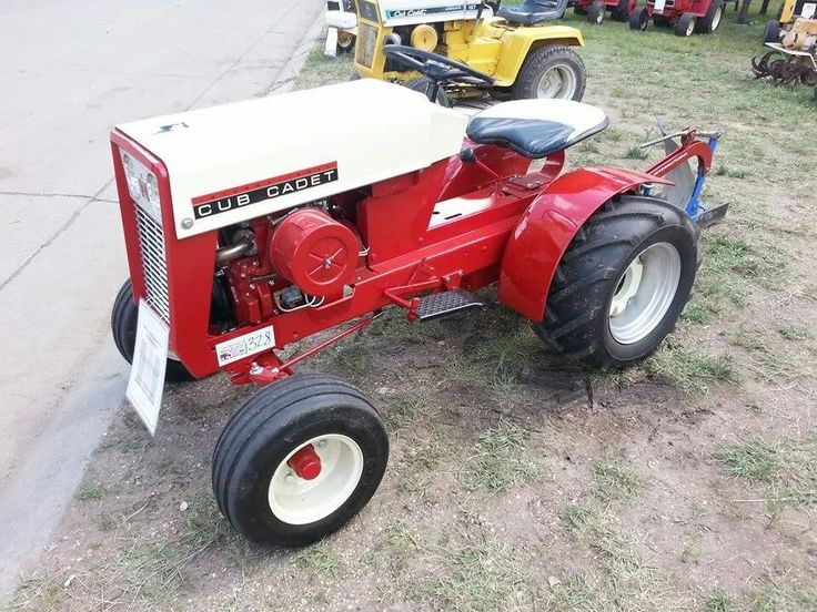 Red Cub Cadet Tractors : Best images about tractors on pinterest tractor