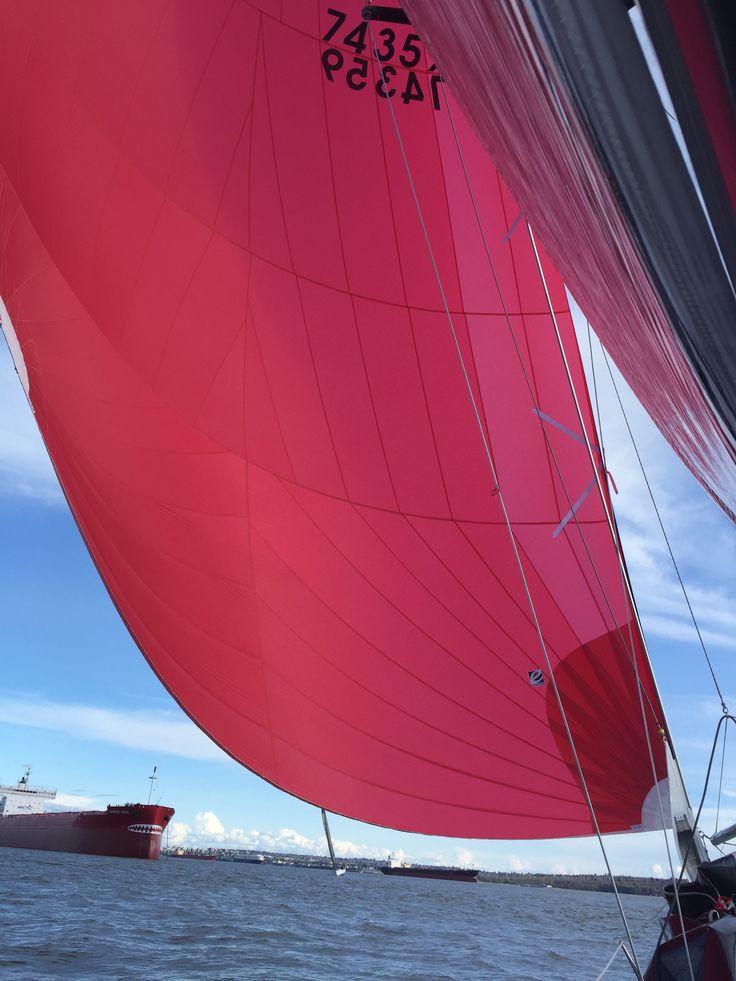 Evolution Sails. Vancouver Loft.