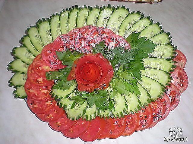 фото красивых салатов и закусок