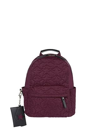 Quilted with stars, our mini backpack is the coolest carryall for casual days. Complete with a front zip pocket and adjustable shoulder straps, it'll have yo...