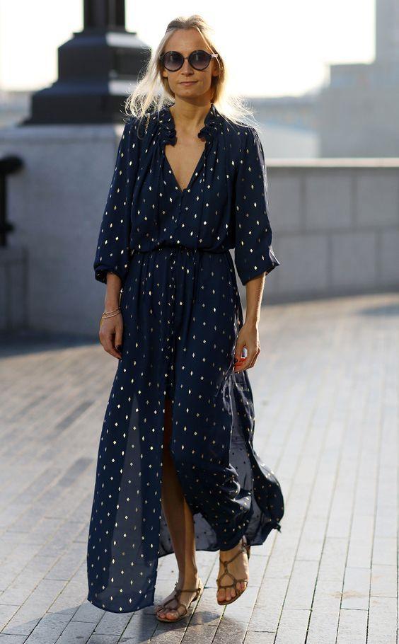 flowy dress - summer