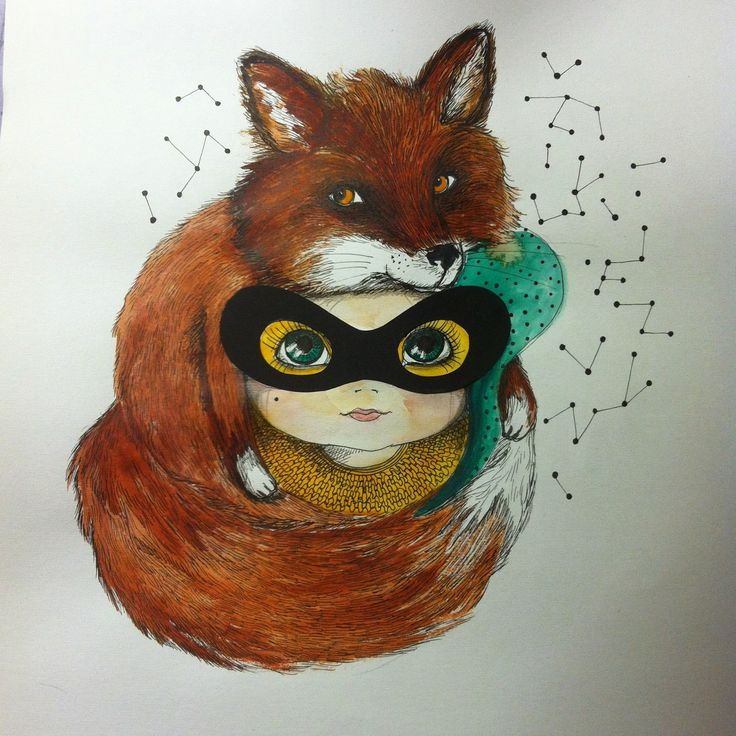 Bandit fox girl. welcome to visit my webshop at www.kollijox.tictail.com
