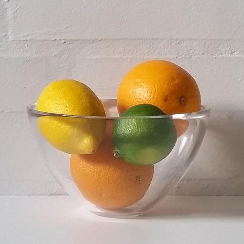 Fuga glasskål fra Orrefors