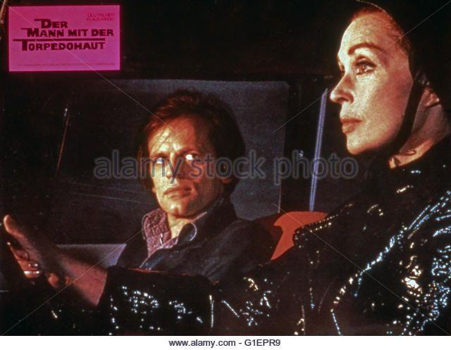 La peau de torpedo, Deutschland/Frankreich/Italien 1970, Regie: Jean Delannoy, Darsteller: Klaus Kinski, Lilli Palmer - Stock Image