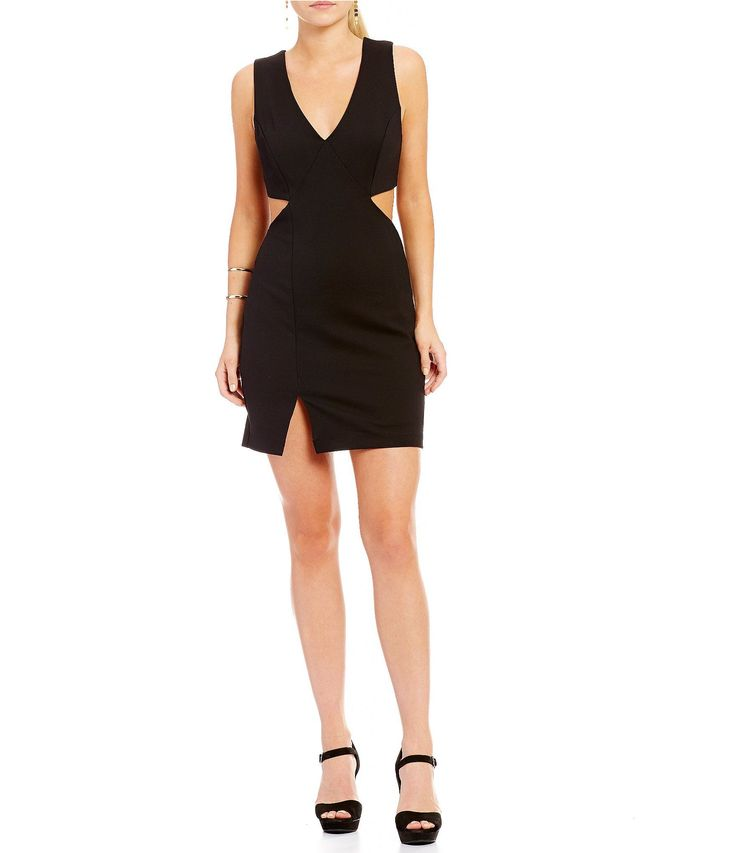 Shop for GB Cutout V-Neck Sleeveless Bodycon Dress at Dillards.com. Visit Dillards.com to find clothing, accessories, shoes, cosmetics & more. The Style of Your Life. #bodycondresshomecoming