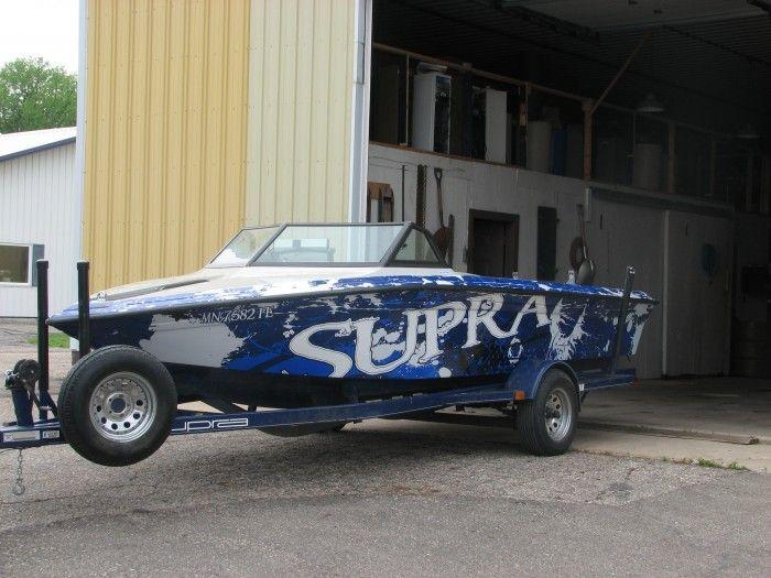 Supra Boat Wrap