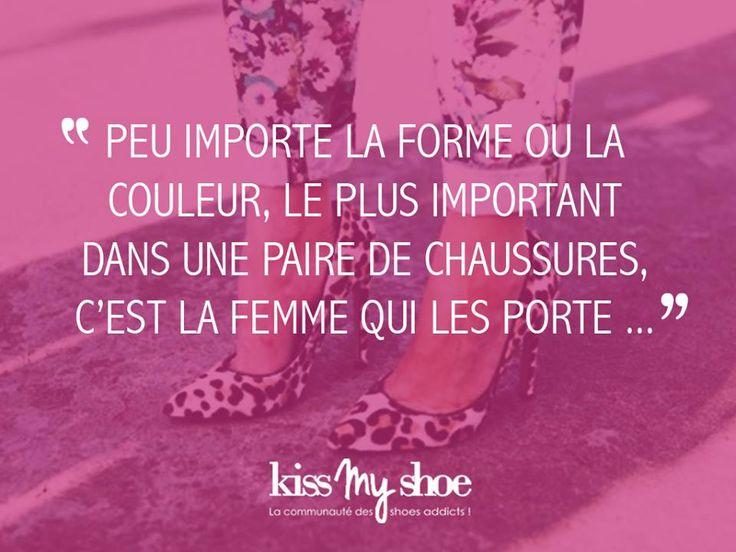 18 best images about kissmyshoe citations chaussures on - Femme qui porte une couche ...