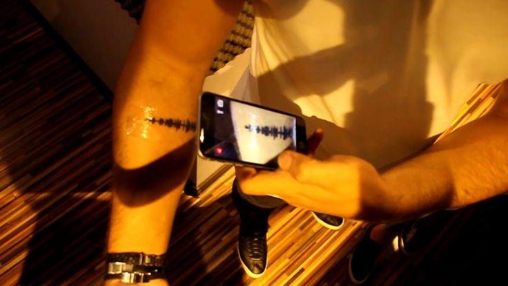 Audio Tattoos - Tatuaje Audio - Soundwaves Tattoos