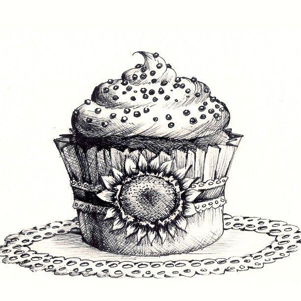 Cupcakes by MadeleineInk