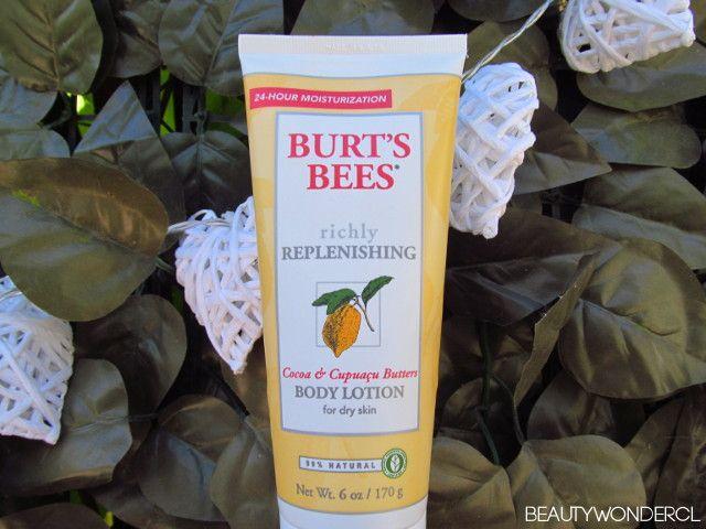 burts bees crema chile