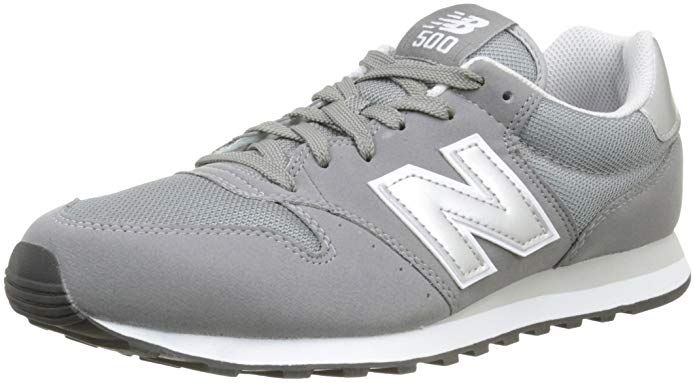 New Balance 500 Core Sneakers Herren Grau/Weiß (Grey/White ...