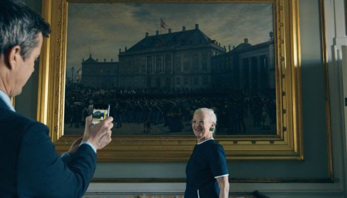 """Gert's Royals on Twitter: """"Picture of Crown Prince Frederik taking the picture of the Queen"""