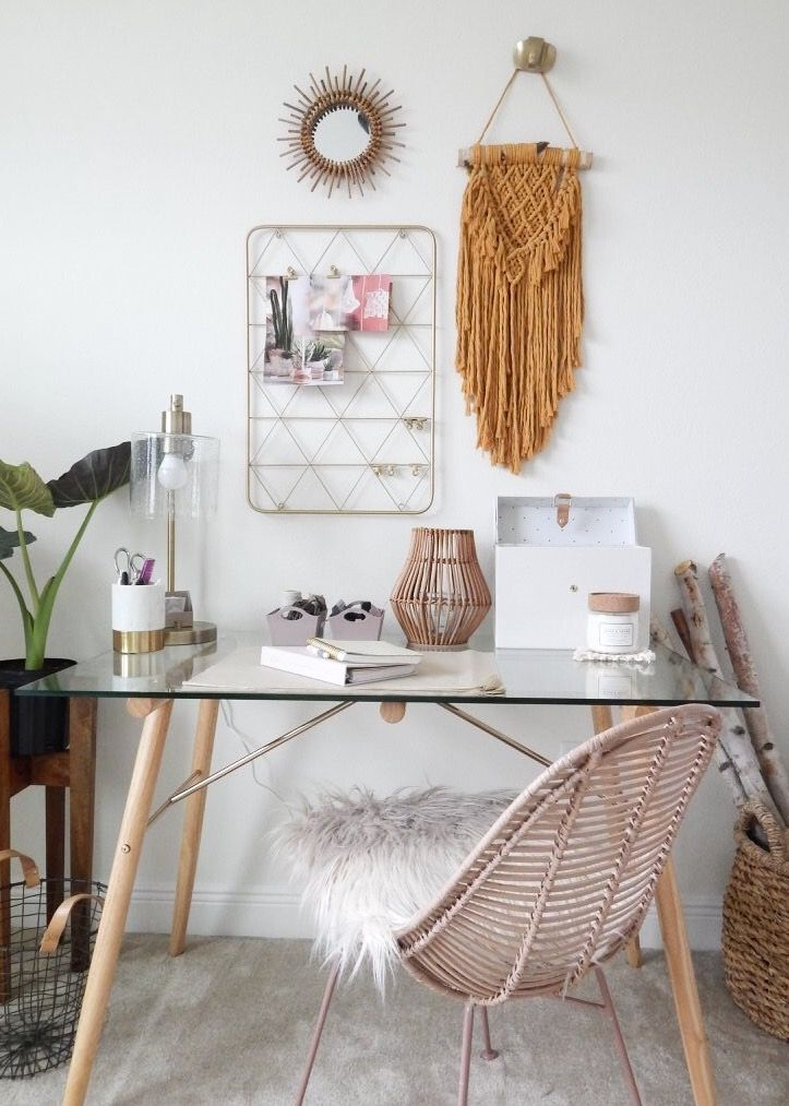 Home Office Decor Bedroom Decor Macrame Wall Hanging Wall